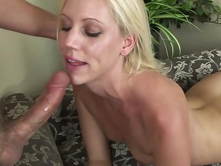Lovely amateur Kacey Villainess which is banging in her tasty mouth and drinking nectar with innocent face