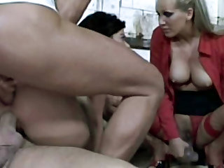 Mandy Bright and Susanne Brend are two cougar whores who've decided to try some hardcore BDSM sex.