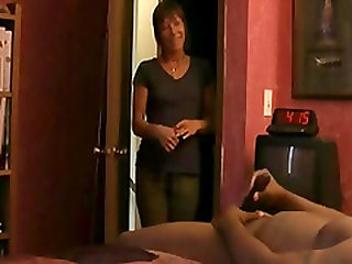 Caught by mom while masturbating