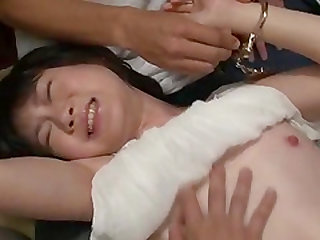 Obedient milf, Aoba Itou, enjoys sex with several men