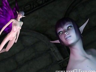 Hentai Elf Porn Magical Masturbation Fantasy