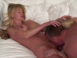 JAKE FUCKS TWO BUSTY NYMPHOS