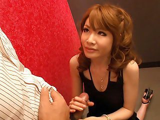 Smoking hot Shiori Amano is a business woman