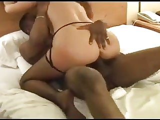 Beautiful wife got a BBC creampie