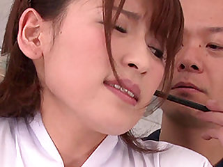 Cute babe Yuri Sasahara wants to taste a hunk's love load