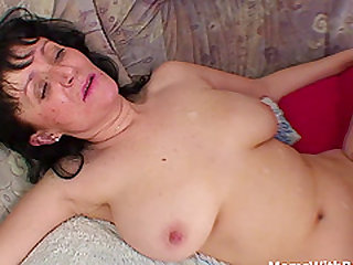 Busty Mother Fucking her boyfriend Cock