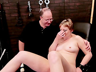 Dirty Nora enjoys big vibrator