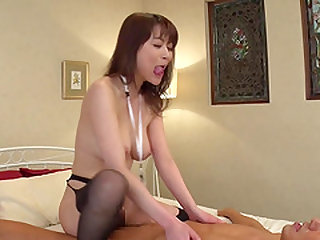 Akari Hoshino gets naked for a fuck with a kinky guy
