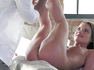 Amazing anal experiece for instiable brunette Anita Bellini