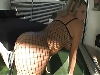 Blonde Italian Milf Takes a Fat Black Cock In Her Ass