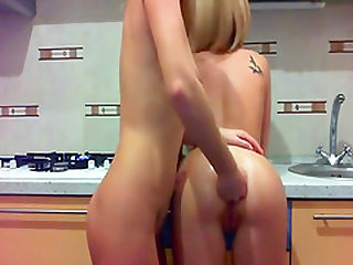 She got all five fisting fingers webcam fingered up her oiled ass