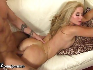 WANKZ - Hot Blonde Stepmom Has Taboo Sex With Stepson!