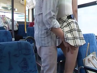 Hardcore scenes on the subway with a beautiful Asian pornstar