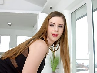 Sultry Stella Cox butt fucked and swallowing that seed