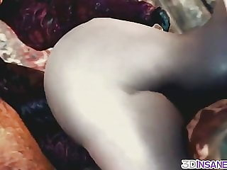 Hot Triss fucked by big dick alien