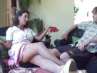 Real taboo - stepmom gets kinky with stepson