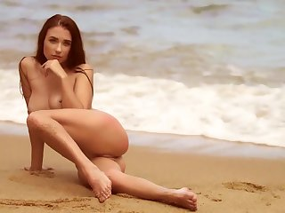 Centerfold beach beauties in a sexy compilation