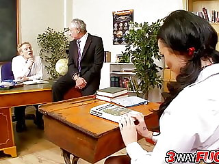 3Way Fuck - A Disciplinary Threesome for Lexi Ward