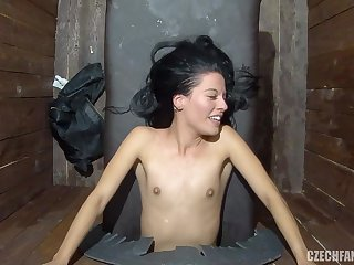 Young Girls Having First Time Glory Hole Experience