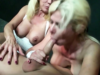 Three German Mom Fuck Stranger at Party in Swingerclub