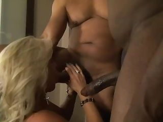 Wife first bbc threesome
