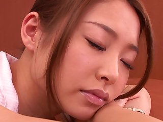Horny Teacher Sarasa Harai Wakes Up To Fuck A Student