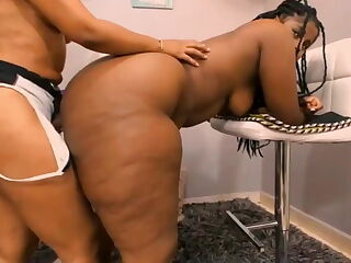 big ass black and latina girls fuck each other in the ass