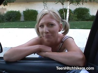 Naughty Hitchhiker Alexa Lynn Gets Rammed By A Fat Cock
