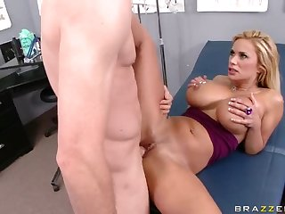 Sinful Anal Blonde Shyla Stylez Gets Fucked In High Heels By a Doctor