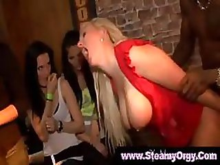 Lustful Amateur Sluts Go Crazy at Hardcore CFNM Orgies