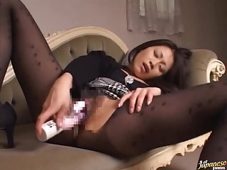 Hyper Horny Asian Mature Babe Masturbates with Different Sex Toys