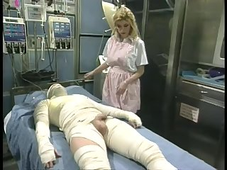 Stunning Blonde Nurse Capri Cameron Sucks and Fucks a Patient's Cock
