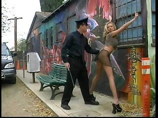 Hot Slut Fucked By A Policeman