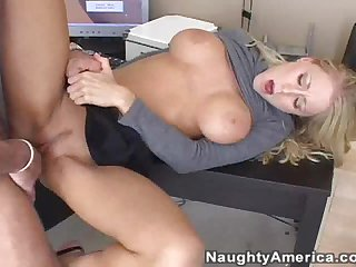 Insanely Hot Blonde Babe Gets a Rimjob and a Cock in her Wet Pussy