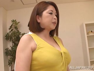 Kayama gets her mature pussy sucked and pounded hardcore