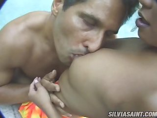 Sexy Malaysian honey Leanni Lei gets two huge cocks