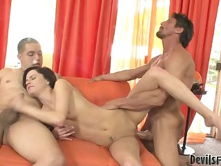 Pretend Father And Son Do So To Get Threesomes