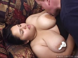 Hot fat hoe getting her fat ass pounded by man meat!